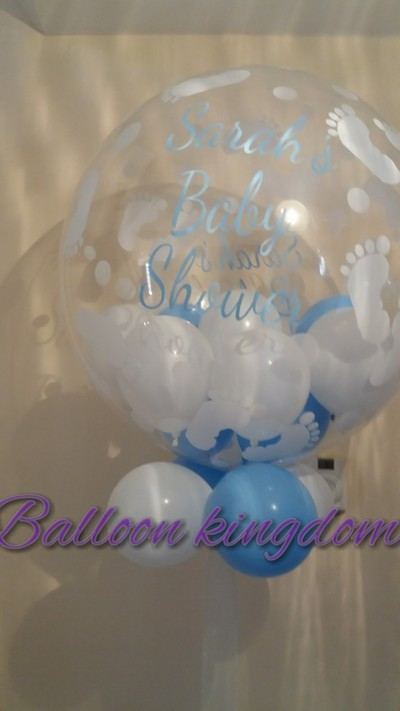 baby shower personalised balloon