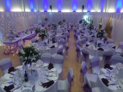 wall drapes wedding decorations colston hall Gerrads cross